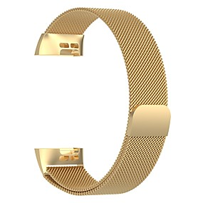 povoljno Remenje za Fitbit satove-sat benda za fitbit naboja 3 / naplatiti 3 se / poseban editon fitbit milanese loop metalni remen za ručni zglob