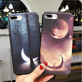 olcso iPhone tokok-Case Kompatibilitás Apple iPhone XR / iPhone XS Max Foszforeszkáló / Minta Fekete tok Látvány Kemény PC mert iPhone XS / iPhone XR / iPhone XS Max