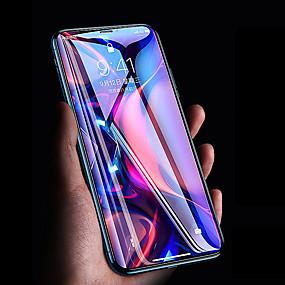 tanie iPhone XR: folie ochronne-Cooho Ochrona ekranu na Jabłko iPhone XR Szkło hartowane 1 szt. Folia ochronna ekranu Wysoka rozdzielczość (HD) / Twardość 9H / Diament