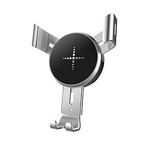 billige Trådløse bilopladere-Bil Oplader / Trådløs Oplader USB oplader USB QC 2.0 / QC 3.0 / Qi 1 USB-port 1.1 A / 2 A DC 9V / DC 5V for iPhone X / iPhone 8 Plus / iPhone 8