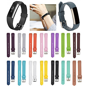 저렴한 Fitbit 밴드 시계-시계 밴드 용 Fitbit Alta HR / Fitbit Ace / Fitbit Alta 핏빗 스포츠 밴드 실리콘 손목 스트랩
