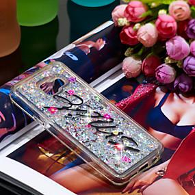 voordelige Galaxy A3(2016) Hoesjes / covers-hoesje Voor Samsung Galaxy A3(2016) Schokbestendig / Glitterglans Achterkant Uil / Glitterglans Zacht TPU