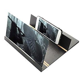 billige Vedhæng til mobiltelefoner-12 tommer akryl 3d telefon skærm forstørrelsesglas letvægts folding design hd video forstørrelsesglas øjenbeskytter smart telefon beslag