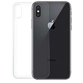 billige Skærmbeskyttelse Til iPhone XR-Skærmbeskytter for Apple iPhone XS / iPhone XR / iPhone XS Max Hærdet Glas 1 stk Rygbeskyttelse High Definition (HD) / 9H hårdhed / 2.5D bøjet kant