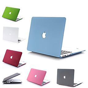 """billige Mac-etuier, Mac-tasker og Mac-covers-MacBook Etui Ensfarvet PVC for MacBook Pro 13"""" med Retina display / MacBook Air 13-tommer / New MacBook Air 13"""" 2018"""