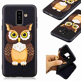 voordelige Galaxy A3(2016) Hoesjes / covers-hoesje Voor Samsung Galaxy A6 (2018) / A6+ (2018) / Galaxy A7(2018) Patroon Achterkant Uil Zacht TPU