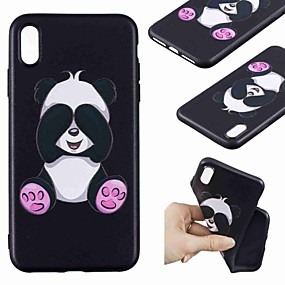 levne iPhone pouzdra-Carcasă Pro Apple iPhone XR / iPhone XS Max Vzor Zadní kryt Panda Měkké TPU pro iPhone XS / iPhone XR / iPhone XS Max