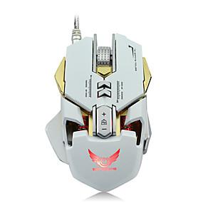 billige Mus og tastaturer-ZERODATE G9 USB-kabel Gaming Mus / Kontor Mus LED Light 5500 dpi 7 Justerbare DPI-nivåer 12 pcs Keys 7 programmerbare nøkler