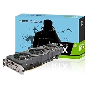 economico Schede grafiche-Galaxy Video Graphics Card RTX2080 1800 MHz 14014 MHz 8 GB / 256 bit DDR6