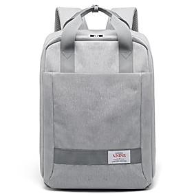 """tanie Gadżety do laptopów-V.NINE Macbook / 15"""" Laptop / iPad Plecaki Terylen Równina dla biura biznesowego dla Colleages & Schools na podróż Wodoszczelność Odporne na wstrząsy"""