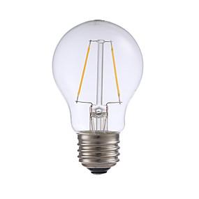 Χαμηλού Κόστους Λαμπτήρες LED με νήμα πυράκτωσης-gmy a17 οδήγησε edison λάμπα 2w οδήγησε λαμπτήρα πυρακτώσεως ισοδύναμο 21w με βάση e26 2700k για υπνοδωμάτιο σαλόνι σπίτι διακοσμητικά