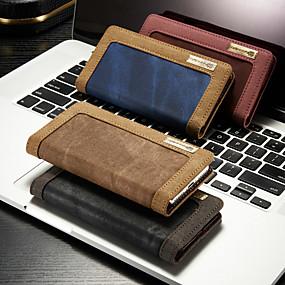 halpa iPhone 5S / SE kotelot-caseme-kotelo iphone xr xs xs max -korttikoteloon / telineeseen kiinteä värillinen kova tekstiili iphone x 8 8 plus 7 7plus 6s 6s plus se 5 5s