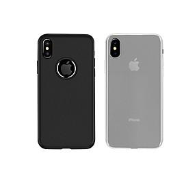 levne iPhone pouzdra-HOCO Carcasă Pro Apple iPhone X Matné Zadní kryt Jednobarevné Pevné TPU pro iPhone X