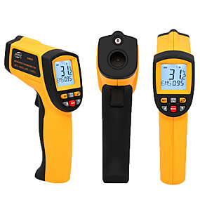 billige 50 % RABAT-GM500 Bærbar / Multi-funktion Infrarøde termometre -50-550℃ Til Kontoret og Indlæring, Datalagring, Laser til / fra kan vælges