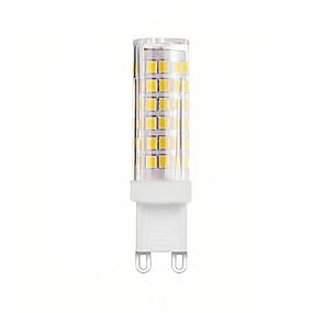 ieftine Becuri LED Bi-pin-1 buc 6 W Becuri LED Bi-pin 600 lm G9 T 76 LED-uri de margele SMD 2835 Decorativ Încântător Alb Cald Alb Rece 220-240 V 110-130 V