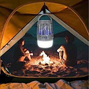 ieftine Lumini Nocturne LED-brelong® 1pc a condus lumina de noapte camping exterior lumina de urgență alb violet usb rezistent la apa reîncărcabilă 5 v