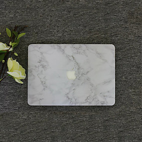"""billige Mac-tilbehør-MacBook Etui Marmor PVC for MacBook Air 13-tommer / Ny MacBook Pro 13"""" / New MacBook Air 13"""" 2018"""