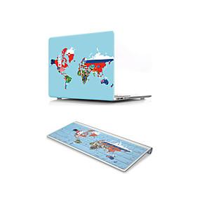 "cheap Mac Cases & Mac Bags & Mac Sleeves-MacBook Case with Protectors Flag PVC(PolyVinyl Chloride) for MacBook 12'' / New MacBook Pro 15-inch / New MacBook Air 13"" 2018"