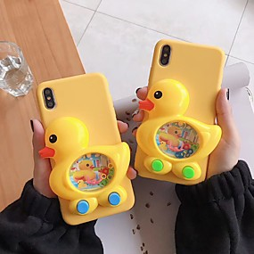 cheap Cool & Fashion Cases for iPhone-Case For Apple iPhone XS Max / iPhone 6 Game case Back Cover / Full Body Cases Animal Soft Silica Gel for iPhone XS / iPhone XR / iPhone XS Max