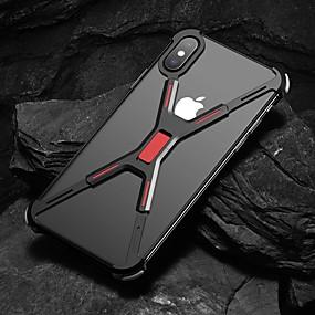 tanie Etui do iPhone-Kılıf Na Jabłko iPhone XS Max / iPhone 6 Odporny na wstrząsy Osłona tylna Solidne kolory Twardość Aluminium na iPhone XS / iPhone XR / iPhone XS Max