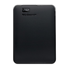 billiga Externa hårddiskar-WD Extern hårddisk 1TB USB 3.0 WDBUZG0010BBK