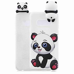halpa Galaxy S -sarjan kotelot / kuoret-Etui Käyttötarkoitus Samsung Galaxy S9 Plus / S8 Kuvio Takakuori Piirretty / Panda Pehmeä TPU varten S9 / S9 Plus / S8 Plus