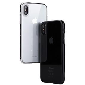 levne iPhone pouzdra-Beiyo Carcasă Pro Apple iPhone X / iPhone XS Ultra tenké / Průhledné Zadní kryt Průhledný Pevné PC pro iPhone XS / iPhone X
