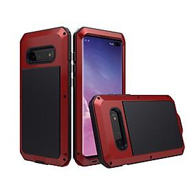 halpa Galaxy S -sarjan kotelot / kuoret-Etui Käyttötarkoitus Samsung Galaxy S9 Plus / S8 Plus Vedenkestävä / Iskunkestävä / Pölynkestävä Suojakuori Yhtenäinen Kova Metalli varten S9 / S9 Plus / S8 Plus