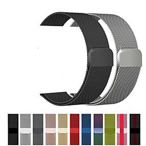 preiswerte Apple Watch Armbänder-Uhrenarmband für Apple Watch Series 4/3/2/1 Apple Mailänder Schleife Edelstahl Handschlaufe