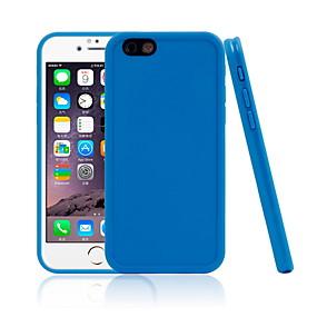 halpa iPhone 5S / SE kotelot-Etui Käyttötarkoitus Apple iPhone 7 / iPhone 6 Vedenkestävä Takakuori Yhtenäinen Pehmeä TPU varten iPhone X / iPhone 8 Plus / iPhone 8