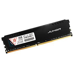economico Componenti per computer-JUHOR RAM 4GB DDR4 2400MHz memoria Desktop DDR4 2400 4G