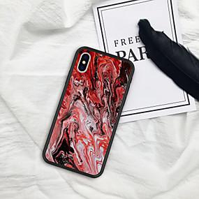levne iPhone pouzdra-Carcasă Pro Apple iPhone X / iPhone 8 Vzor Zadní kryt Zářící barvy Měkké TPU pro iPhone XR / iPhone X / iPhone 8 Plus