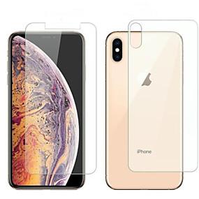 お買い得  iPhone XR 用スクリーンプロテクター-アップルのiphone 6/7/8 / x / xr / xs最大iphone 6プラス/ 6splus / 7plus / 8plus強化ガラス1個PCフロント用スクリーンプロテクター&アンプ。バックプロテクターHD(高精細)/ 9h硬さ/ 2.5d曲線の端