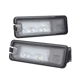 economico Kit di conversione HID-led posteriore numero di targa luce della lampada per vw beetle polo golf mk7 errore gratuito