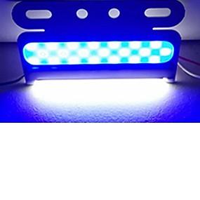 billige Advarselslamper-sencart 6pcs blinkende alarm advarselsside markør beacon fare strobe lys ledet cob 24v
