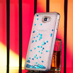voordelige Galaxy J7(2017) Hoesjes / covers-hoesje voor Samsung Galaxy j2 pro 2018 / j7 prime glitter shine / vloeiende vloeistof achterkant glitter glitter soft tpu voor Galaxy m10 (2019) / galaxy m20 (2019) / j2 prime j72017 j3 2017 j5 prime