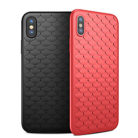 abordables Coques d'iPhone-Coque Pour Apple iPhone XR / iPhone XS Max Ultrafine Coque Couleur Pleine Flexible TPU pour iPhone XS / iPhone XR / iPhone XS Max