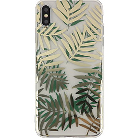 abordables Coques d'iPhone-Coque Pour Apple iPhone XS Max / iPhone 6 Motif Coque Arbre Dur PC pour iPhone XS / iPhone XR / iPhone XS Max