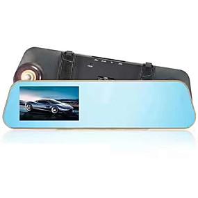 voordelige Auto DVR's-btutz TFT 1080p Full HD Auto DVR 170 graden Wijde hoek CCD 4.3 inch(es) TFT Dash Cam met G-Sensor / Parkeermodus Neen Autorecorder