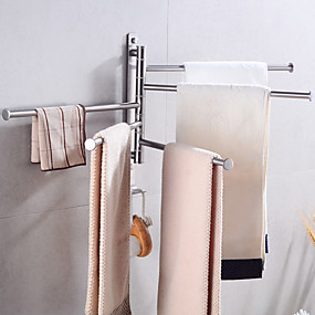 cheap Bathroom Gadgets-Towel Bar Creative Fun & Whimsical Stainless steel 1pc - Bathroom / Hotel bath Wall Mounted