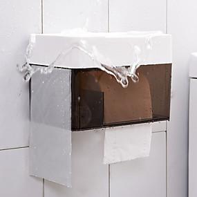 abordables Gadgets de Salle de Bain-Rangements de maquillage simple Moderne contemporain / Mode Plastique 1 set Salle de bain