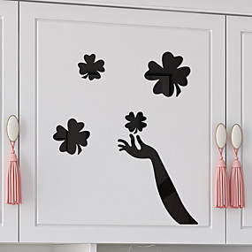 cheap Decoration Stickers-Decorative Wall Stickers - 3D Wall Stickers / Mirror Wall Stickers 3D / Fairies Nursery / Kids Room