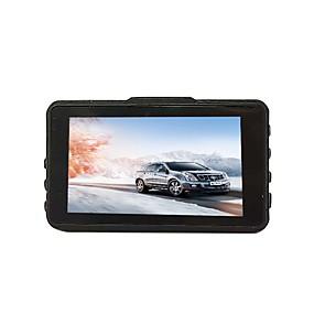 voordelige Auto DVR's-btutz LCD 1080p Full HD Auto DVR 170 graden Wijde hoek CCD 3 inch(es) LCD Dash Cam met G-Sensor / Parkeermodus / Continu-opname Autorecorder