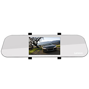 voordelige Auto DVR's-Lenovo HR02 1080p Full HD / met achteruitrijcamera / Start automatische opname Auto DVR 170 graden Wijde hoek 5 inch(es) IPS Dash Cam met Nacht Zicht / G-Sensor / Parkeermodus Autorecorder