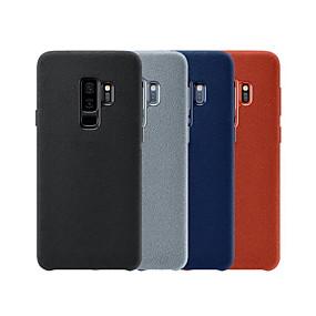 olcso Galaxy S9 Plus tokok-Case Kompatibilitás Samsung Galaxy S8 / Galaxy S10 E Ütésálló Fekete tok Egyszínű Kemény Fém mert S9 / S9 Plus / S8 Plus
