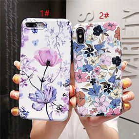 olcso iPhone tokok-Apple iphone xr / iphone xs max minta / imd hátsó borító virág puha tpu iPhone x xs 8 8plus 7 7plus 6 6plus 6s 6splus