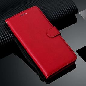 povoljno Kupuj prema modelu telefona-Θήκη Za Samsung Galaxy S9 / S9 Plus / Galaxy S10 Novčanik / Utor za kartice / sa stalkom Korice Jednobojni PU koža