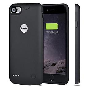 Недорогие Менее 4500 мАч-2800 mAh Назначение Внешняя батарея Power Bank 5 V Назначение 1.5 A Назначение Зарядное устройство Кейс со встроенной батареей для iPhone LED