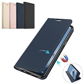 cheap Daily Deals-Case For Xiaomi Xiaomi Mi Max 3 / Xiaomi Mi 8 / Xiaomi Mi 8 SE Card Holder / Flip / Magnetic Full Body Cases Solid Colored PU Leather / TPU / Xiaomi Mi 6
