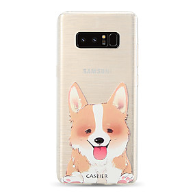voordelige Galaxy S7 Hoesjes / covers-hoesje voor samsung galaxy s8 / s7 rand doorschijnend / stofdicht / patroon achterkant kat / hond zachte tpu / waterdichte mode / persoonlijkheid creativiteit reliëf soft shell telefoonhoesje voor s6